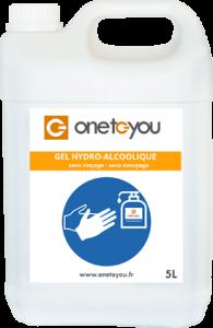 Bidon 5litres gel hydro alcoolique